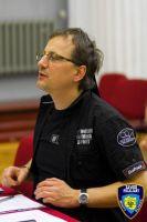 Casting - Zawód Policjant - Dariusz Niebudek jako reżyser castingu, marzec 2010