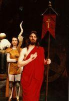 Historyja o chwalebnym Zmartwychwstaniu Pańskim 1993 fot. Archiwum Teatru Zagłębia
