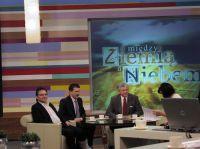Między Ziemią a Niebem, TVP1 2011 fot. Agnieszka Perzyńska
